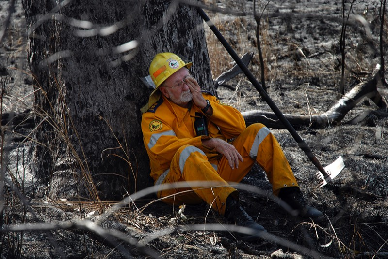 Bundaberg photographer image of rural fire brigade